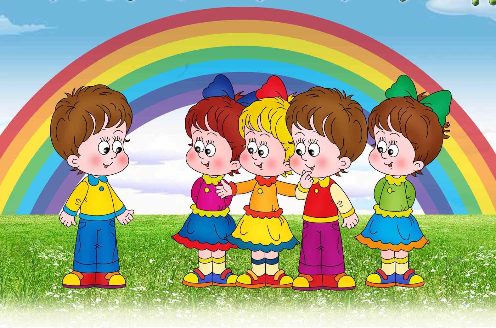 Картинки для детей в садик, юбилеем авторские смешные